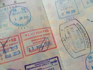 パスポート 入国審査
