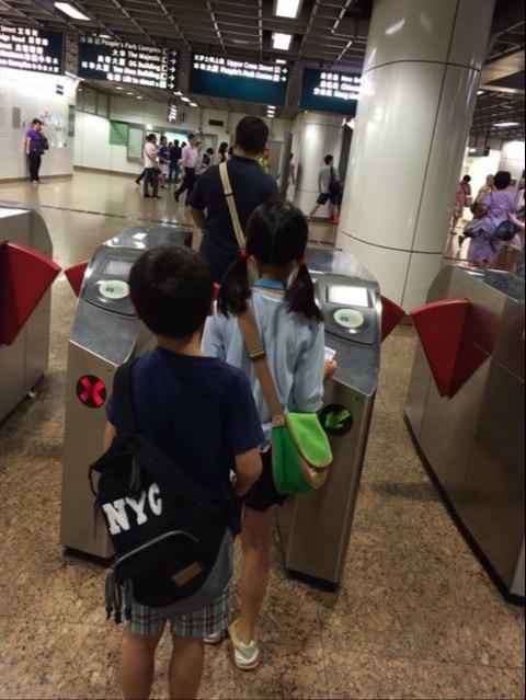 地下鉄 in シンガポール