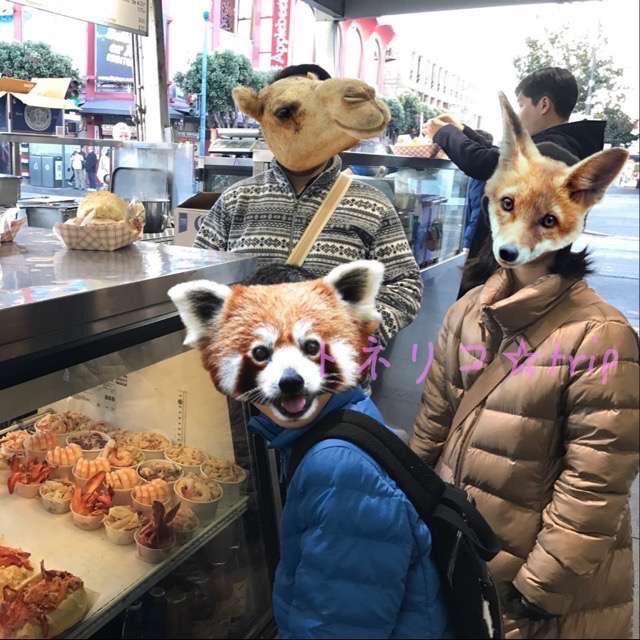 フィッシャーマンズワーフでシーフードとクラムチャウダーを食べる