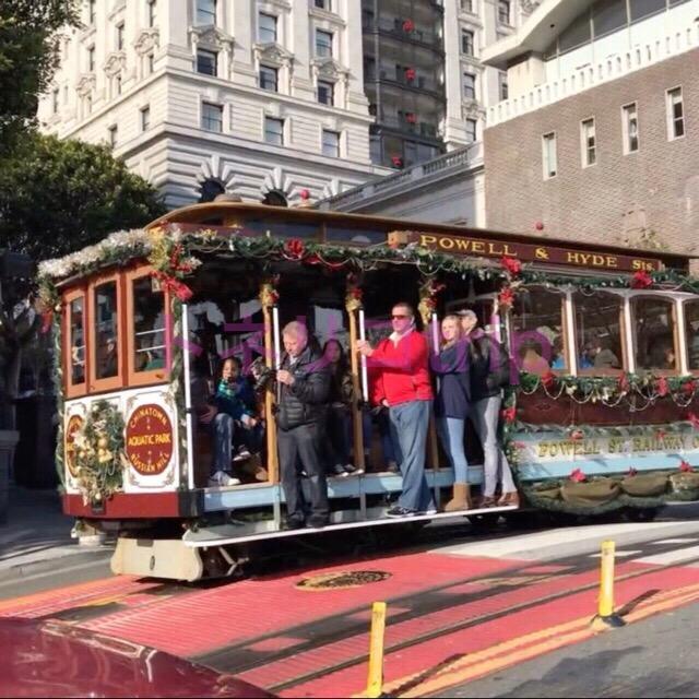 サンフランシスコのケーブルカーに並ばず待たずに乗る方法