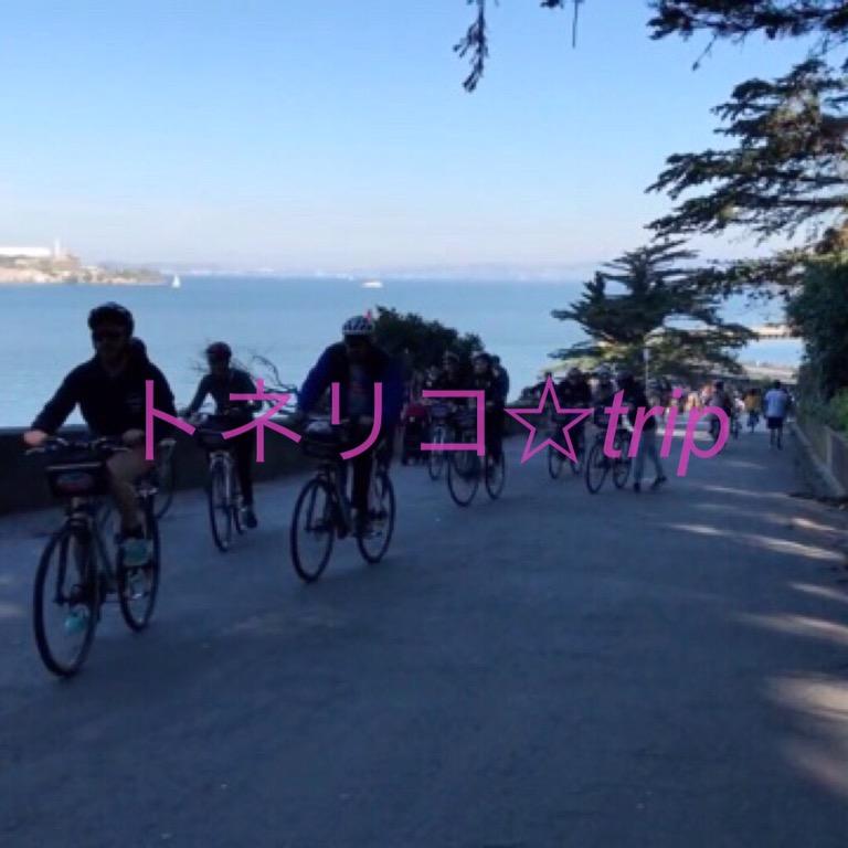サンフランシスコのレンタルサイクルでゴールデンゲートブリッジへ