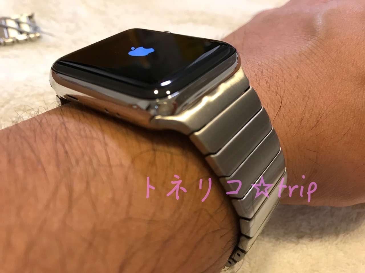 Apple Watch リンクブレスレット サードパーティ製