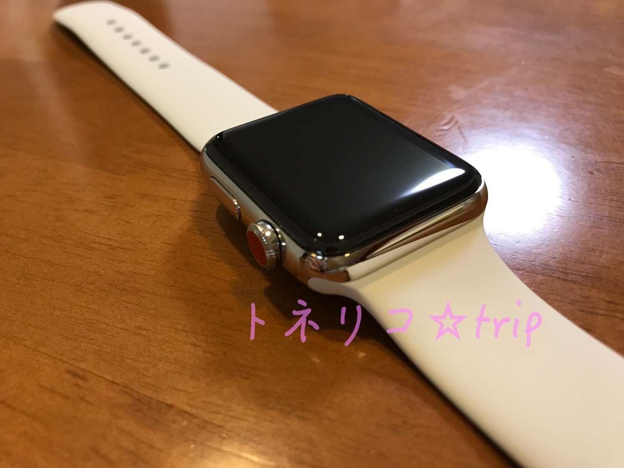 Apple Watch スポーツバンドホワイト