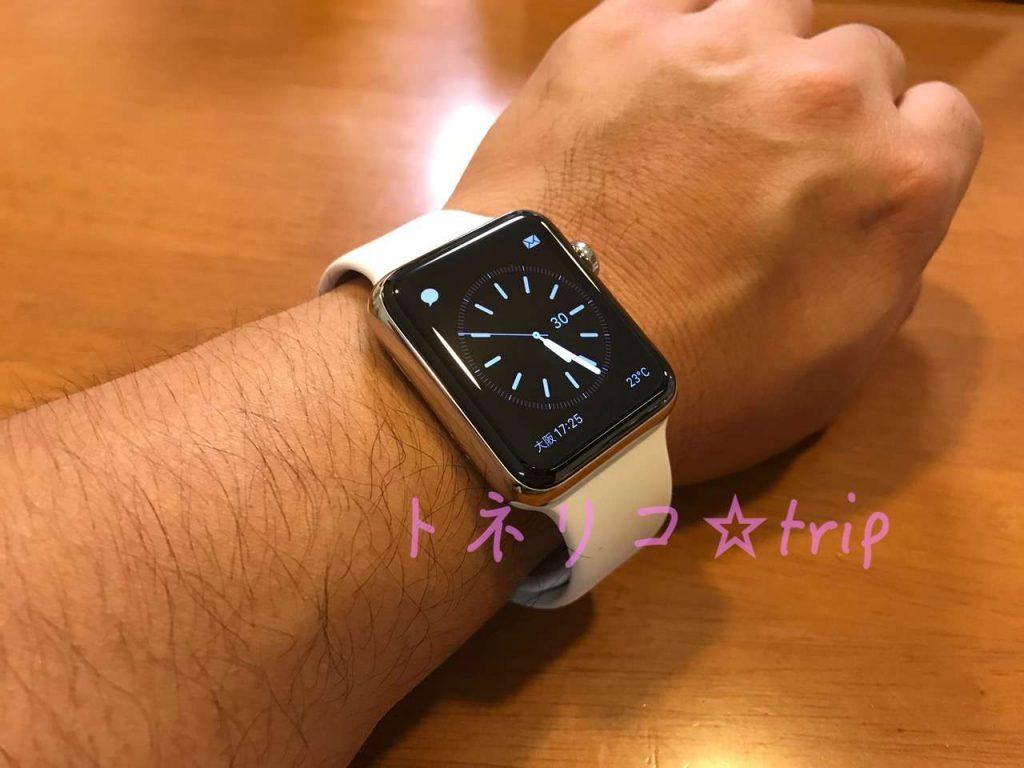 お父さんにApple Watch ステンレス
