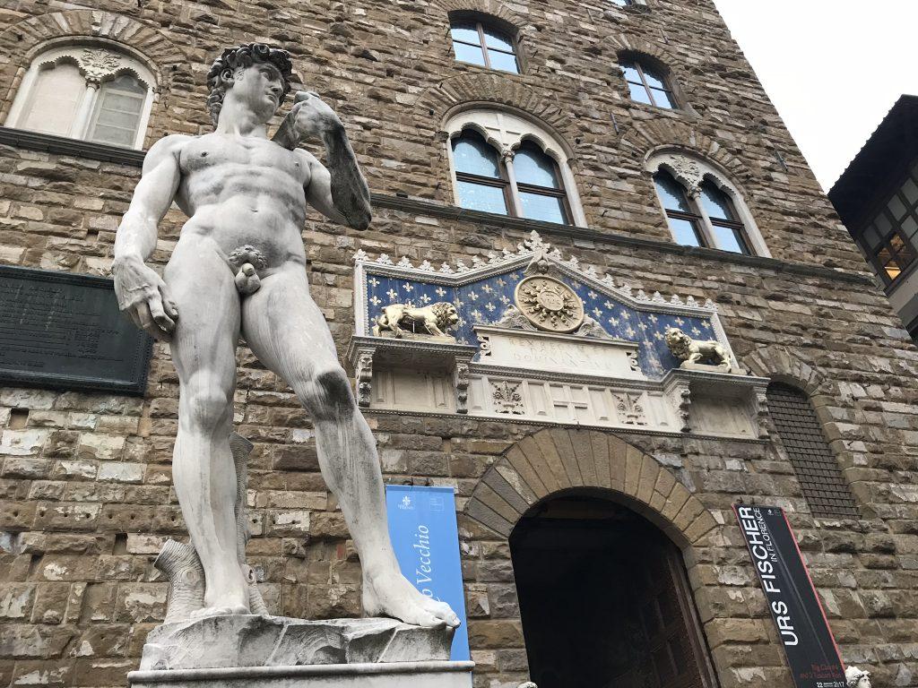 筋肉つけ過ぎのデメリット。カッコ良い筋肉講座 in フィレンツェ