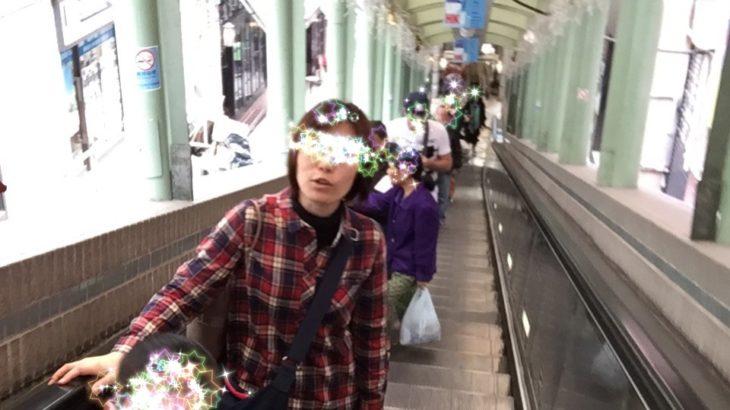 勾配が急なので街中にエスカレーターつけたよ|香港中環