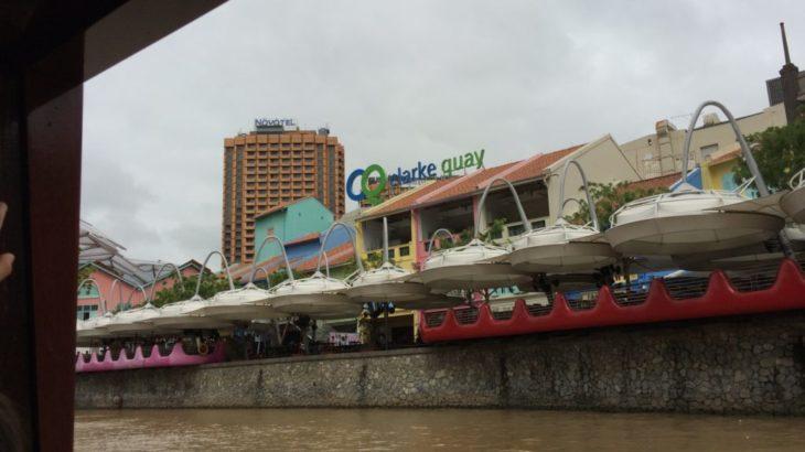 【シンガポール 家族旅行記#9】リバークルーズでクラークキーへ