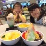 【シンガポール 家族旅行記#20】313@サマセットのフードコートでアイスカチャン