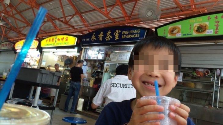 【シンガポール 家族旅行記#14】有名ホーカー マックスウェルフードセンター