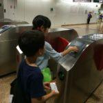 【シンガポール 家族旅行記#12】メトロ安全