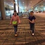 【シンガポール 家族旅行記#21】チャンギ空港から中国東方航空で帰ります🤗
