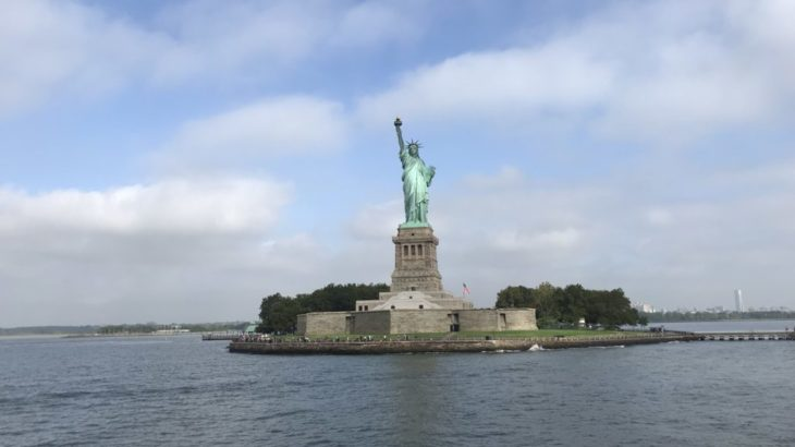 【ニューヨーク 家族旅行記#02】STATUE CRUISESでリバティ島へ