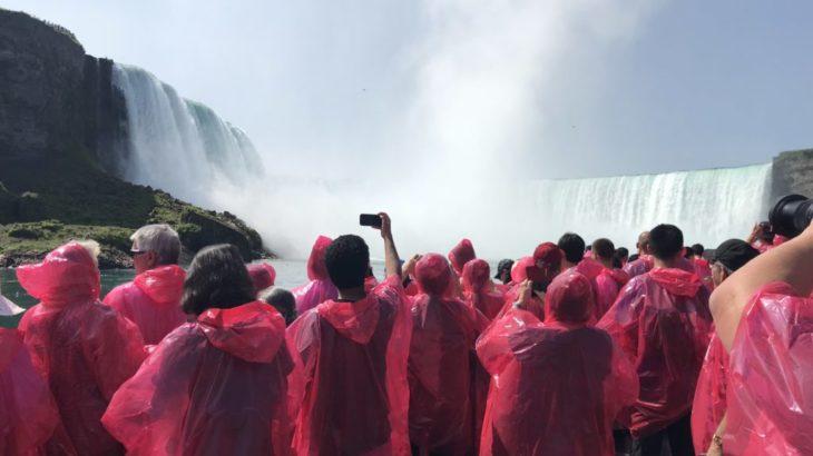 【ナイアガラ 家族旅行記#10】ナイアガラの滝 メガネ見えない!