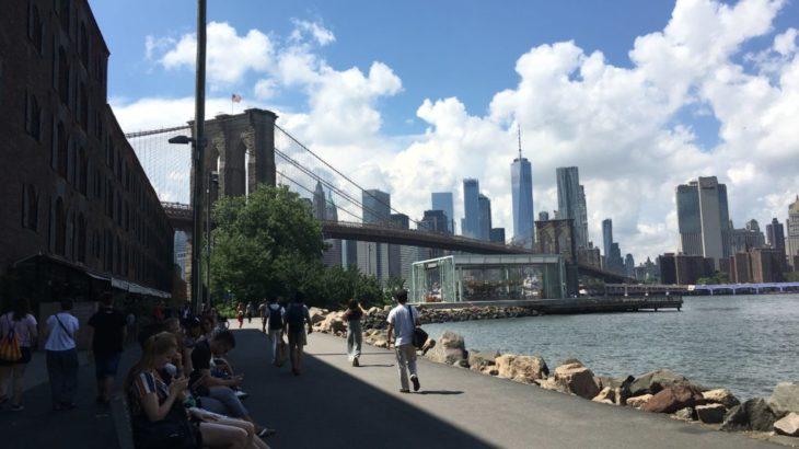 【ニューヨーク 家族旅行記#07】ブルックリンブリッジ動画