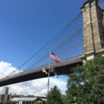 【ニューヨーク 家族旅行記#05】ブルックリンブリッジかっこいい!