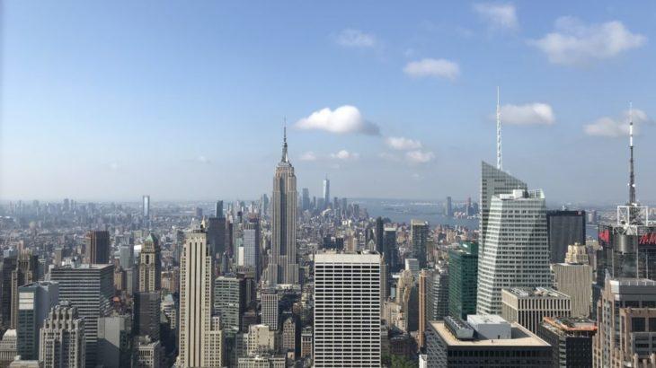 【ニューヨーク 家族旅行記#10】トップ オブ ザ ロックからエンパイアステートビルを見る動画