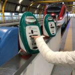 【ローマ 家族旅行記#02】イタリアの鉄道は「刻印」必要です。