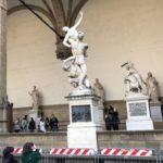 【フィレンツェ  家族旅行記#05】ヴェッキオ宮殿前のシニョリーア広場