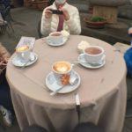 【フィレンツェ  家族旅行記#13】ウフィツィ美術館のカフェテラス