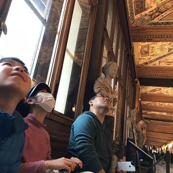【フィレンツェ  家族旅行記#14】天井がとにかく美しい!⭐️