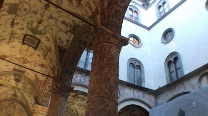 【フィレンツェ  家族旅行記#19】ヴェッキオ宮殿の中庭