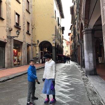 【フィレンツェ  家族旅行記#26】ピサの街並み。イタリアらしくて散歩も楽しい😊