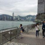 【香港  家族旅行記#02】ブルースリーの銅像があるアベニューオブスターズ(Avenue of Stars)へ向かいます