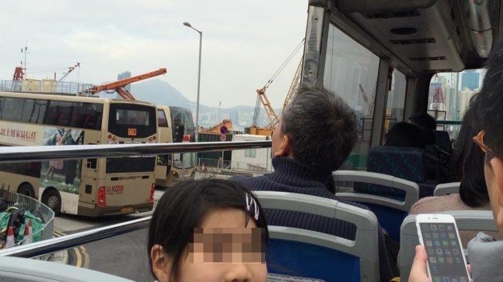 【香港  家族旅行記#07】オープントップバスは人力車観光バスがオススメ