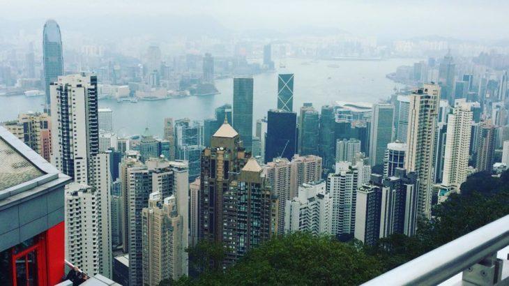 【香港  家族旅行記#05】ビクトリアピークに来ました!