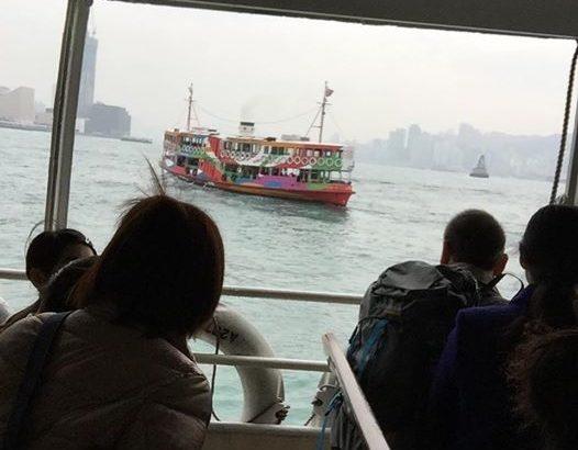 【香港  家族旅行記#13】正月香港のスターフェリー