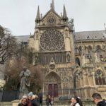 【パリ家族旅行ヒント#08】ノートルダム大聖堂のバラ窓とセーヌ川