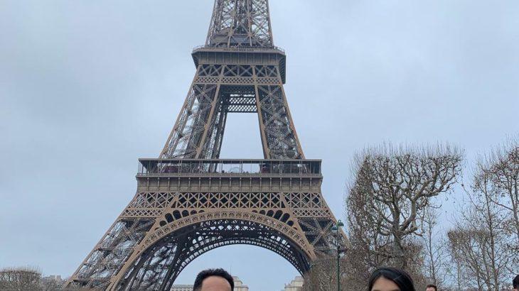 【パリ家族旅行ヒント#13】シャン・ド・マルス公園からのエッフェル塔