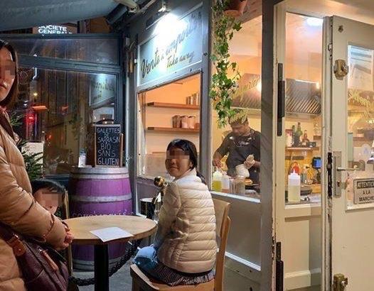 【パリ家族旅行ヒント#16】ガレットをいただきます