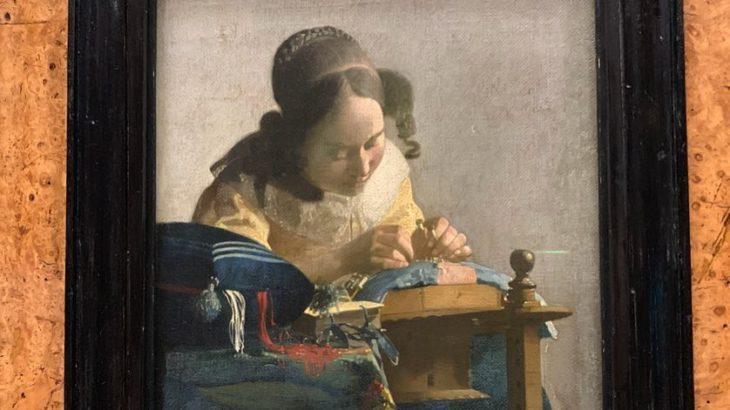 【パリ家族旅行術#20】『レースを編む女』フェルメール攻略!