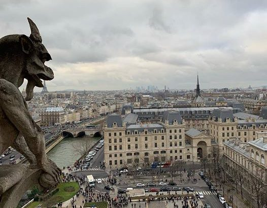 パリのノートルダム大聖堂の塔をアプリで予約する方法とか中の様子とか混雑具合とか。