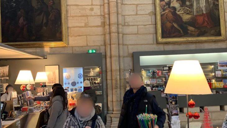 【パリ家族旅行術#32】ノートルダムの塔限定おみやげ屋さん攻略!