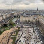 【パリ家族旅行術#35】バラ窓みる列はこちら@ノートルダム大聖堂