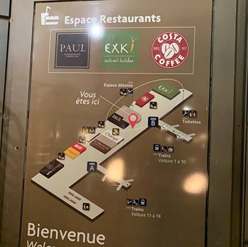 【パリ家族旅行術#40】ユーロスターパリ北駅の待合室情報