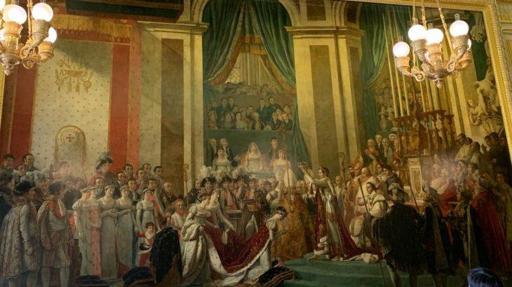 【パリ家族旅行術#45】秘密あり!「ナポレオン一世の戴冠式と皇妃ジョゼフィーヌの戴冠」@ベルサイユ宮殿