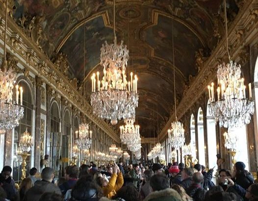 【パリ家族旅行術#46】美しい天井@ベルサイユ宮殿